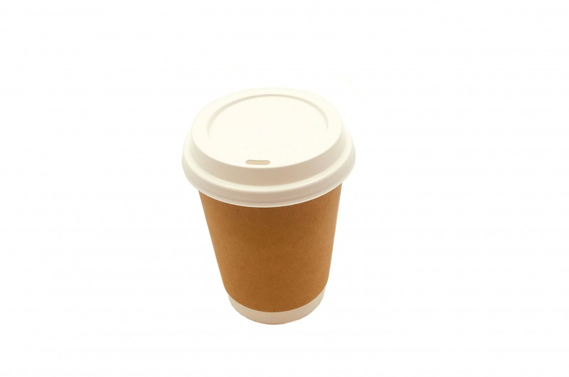 Vaso Café Doble Kraft 12oz